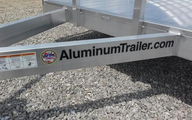 2019 ATC 6x10 Aluminum Utility Trailer