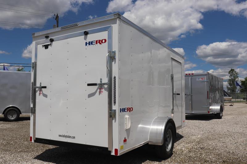 2020 Bravo Trailers 6x12 Hero Enclosed Cargo Trailer