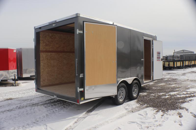 2019 Bravo Trailers 7x16 7K Scout Enclosed Cargo Trailer w/ Double Doors