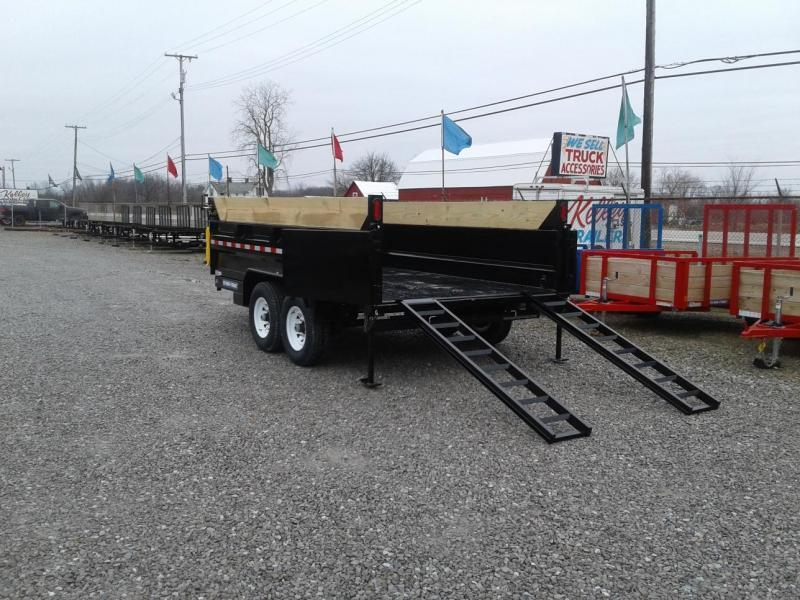 "2019 Sure-Trac 82""x14' 14K Telescopic Dump Trailer"