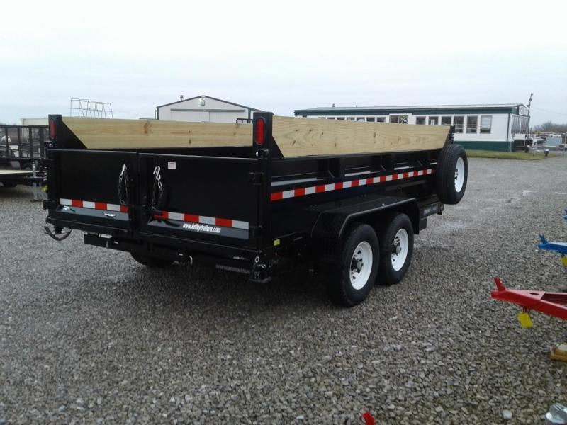 "2018 Sure-Trac 82""x14' 14K Telescopic Dump Trailer"