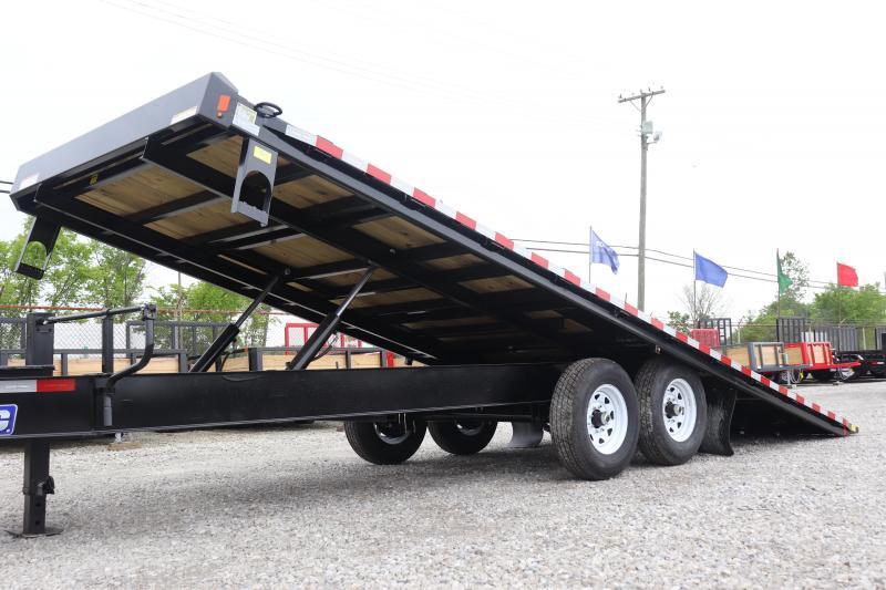 2019 Sure-Trac 102 x22 Deckover Tilt Flatbed Trailer