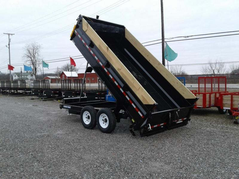 "2019 Sure-Trac 82""x14' 14K Low Pro Telescopic PRO Dump Trailer"