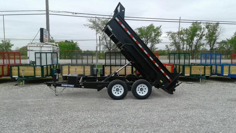 "2018 Sure-Trac 72""x10 10K Single Ram Dump Trailer"