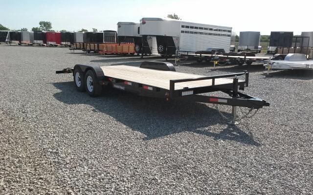 2018 Sure-Trac 20' 10K Wood Deck Car Hauler
