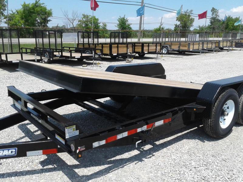 2018 Sure-Trac 7x18 14K Tilt Bed Equipment Trailer