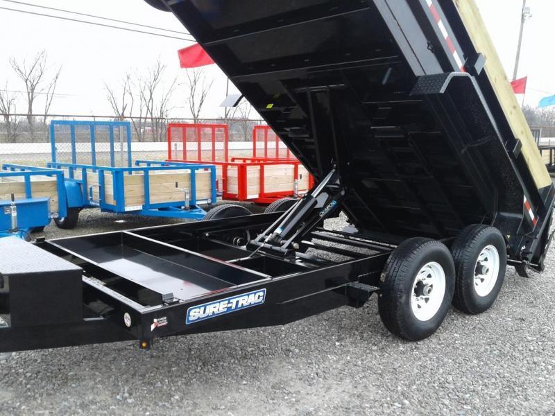 "2018 Sure-Trac 82""x14 14K Scissor Dump Pro Series Trailer"