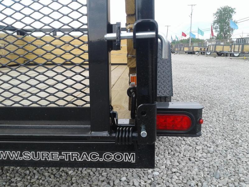 2019 Sure-Trac 6x10 3-Board Utility Trailer