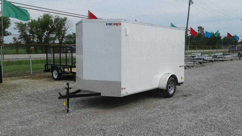 2018 Bravo Trailers 6x12 Hero Enclosed Cargo Trailer