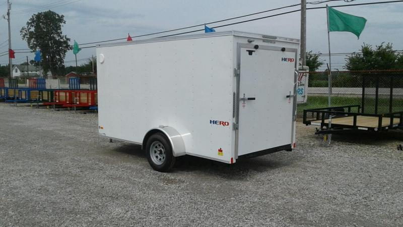 2019 Bravo Trailers 6x12 Hero w/ Ramp Door Enclosed Cargo Trailer