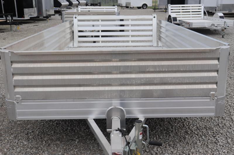 """2020 Hillsboro Industries 78""""x14 Aluminum Utility Trailer"""