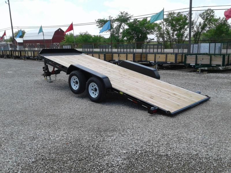 2018 Sure-Trac 7x20 10K Tilt Bed Car / Racing Trailer