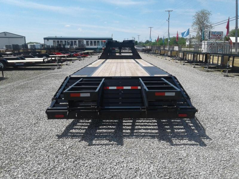 2018 Sure-Trac 8.5x25+5 23.1K  Deckover Gooseneck Equipment Trailer