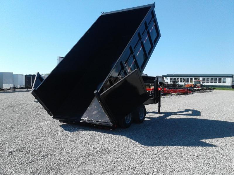 """2019 Sure-Trac 96""""x16 25.9K Deckover Scissor Dump Trailer"""