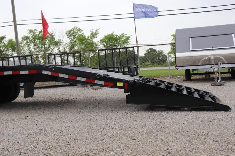 2019 Sure-Trac 8.5x35+5 25.9K Gooseneck Deckover Trailer