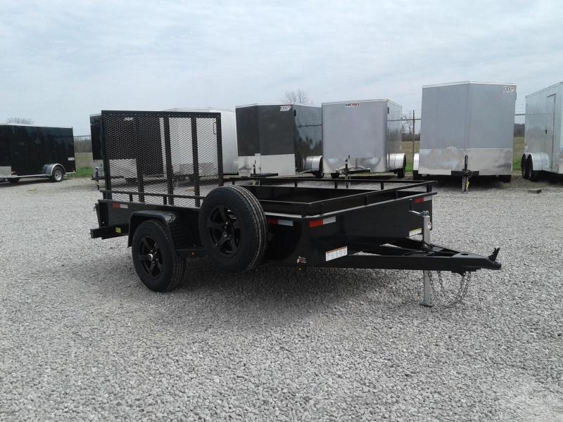 2018 Sure-Trac 6x10 Steel High Side Utility Trailer