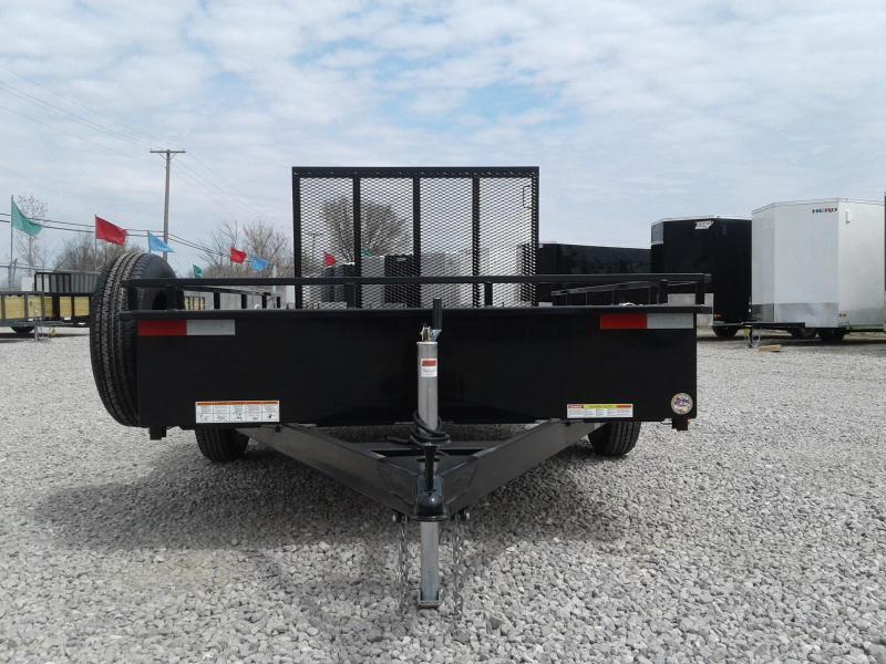 2018 Sure-Trac 6 x 10 Steel High Side Utility Trailer