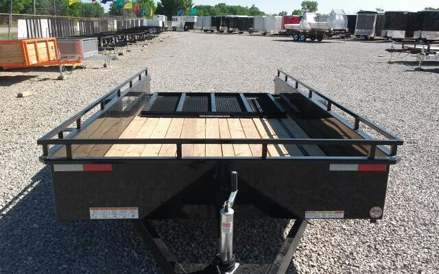 2018 Sure-Trac 6x12 Steel High Side Utility Trailer
