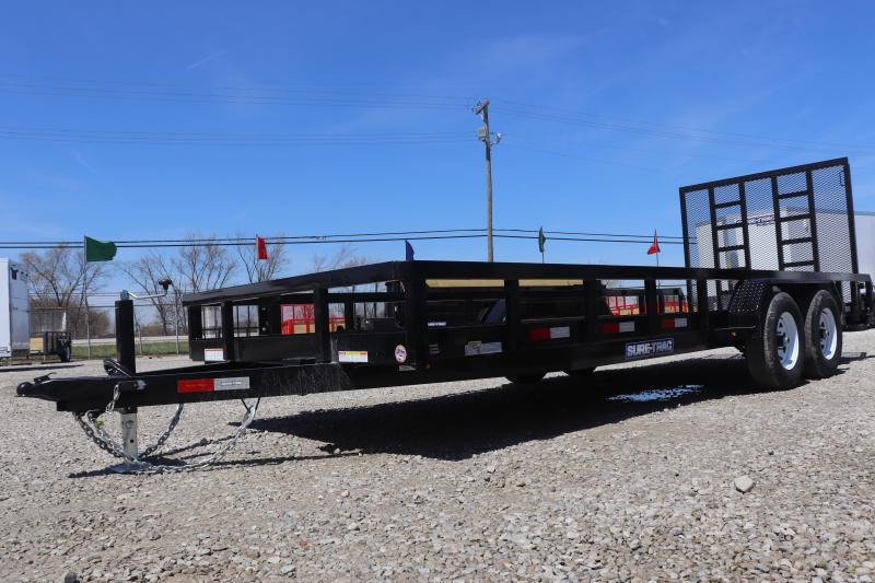 2019 Sure-Trac 7x20 10K Tube Top Utility Trailer