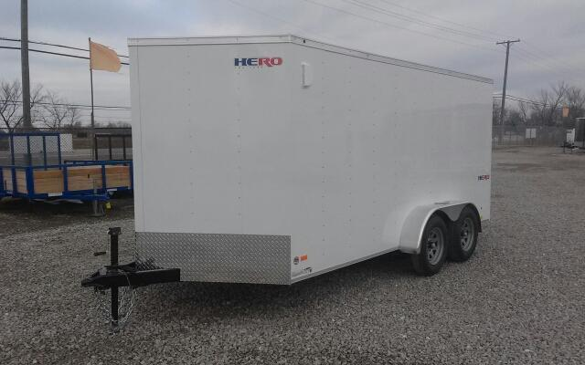 2019 Bravo Trailers 7X14 Hero w/ Ramp Door