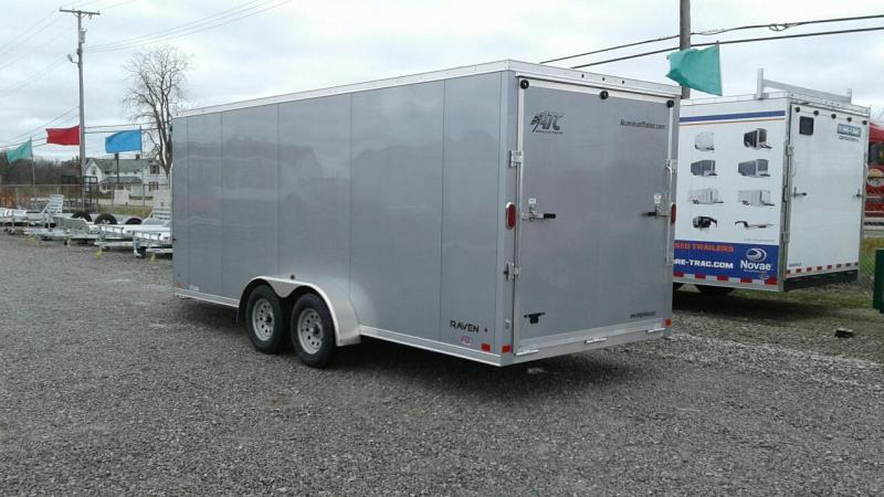 2018 Aluminum Trailer Company 7x18+6 3-Place Snowmobile Trailer