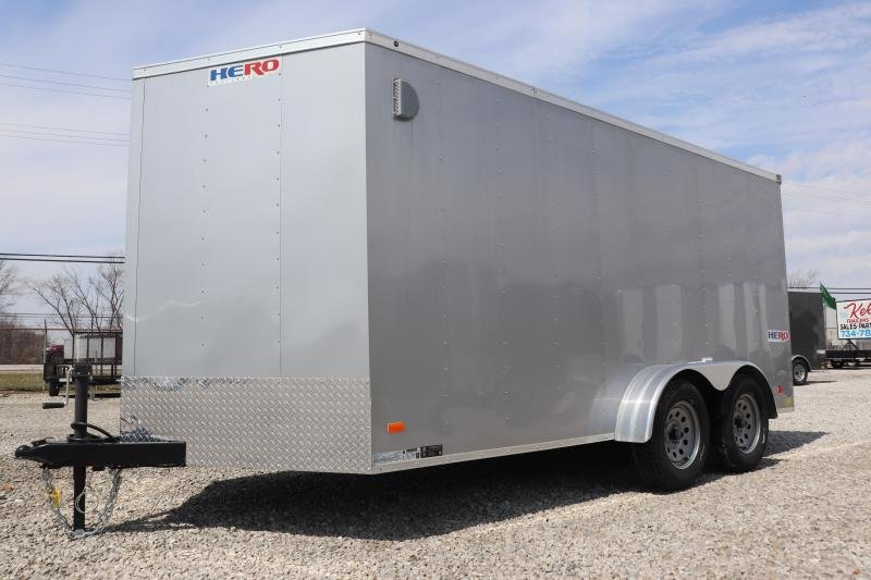2019 Bravo Trailers 7x14 Hero w/ Ramp Door Enclosed Cargo Trailer