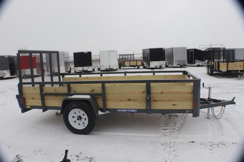2019 Sure-Trac 6x12 3-Board Utility Trailer
