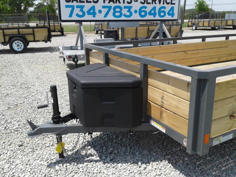 2018 Sure-Trac 7x12 3-Board Utility Trailer