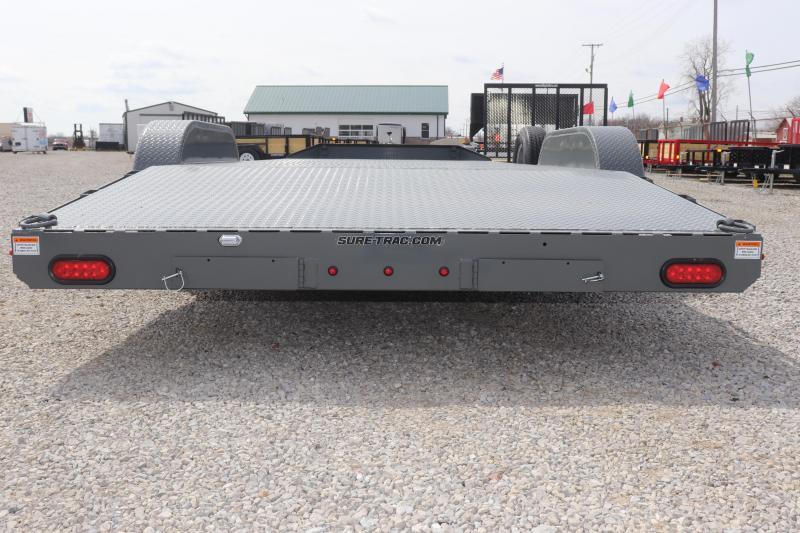 2019 Sure-Trac 7x20 10K Steel Deck Car Hauler Trailer