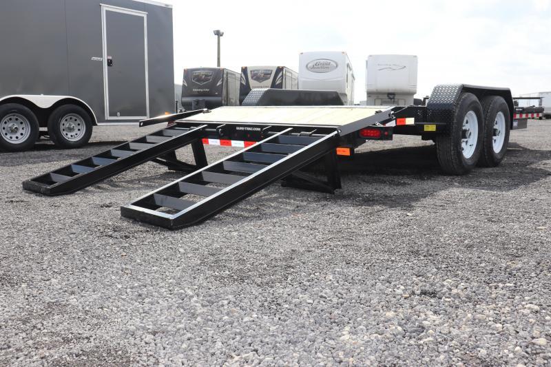 2019 Sure-Trac 7x18 14K Implement Equipment Trailer