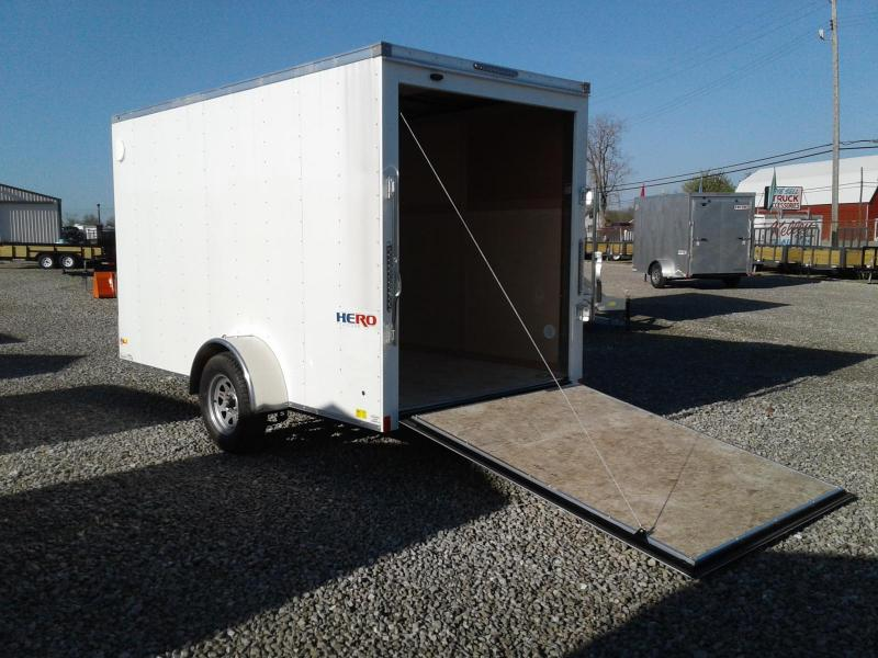 2019 Bravo Trailers Hero 6 x 12 w/ Ramp Enclosed Cargo Trailer