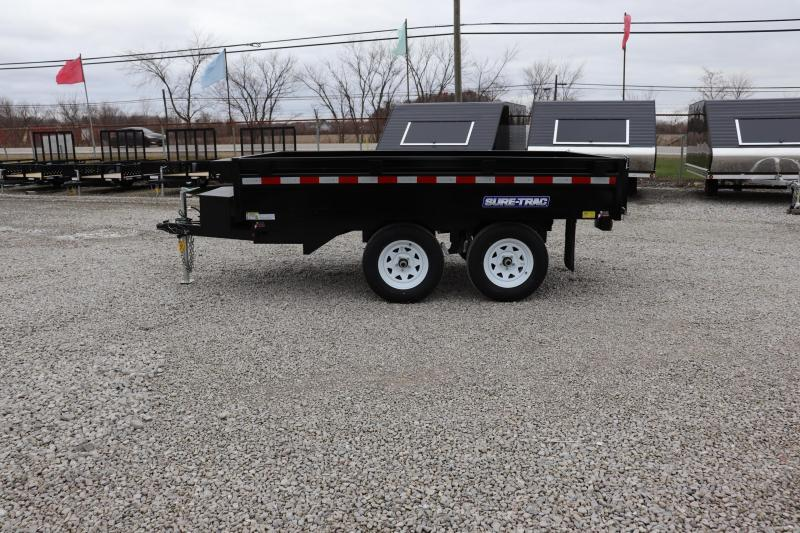 "2019 Sure-Trac 72""x10 10K Deckover Single Ram Dump Trailer"