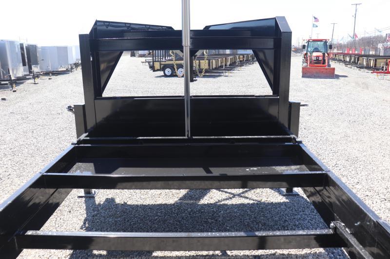 2019 Sure-Trac 82INx16 21K Low Pro Telescopic Gooseneck Dump Trailer