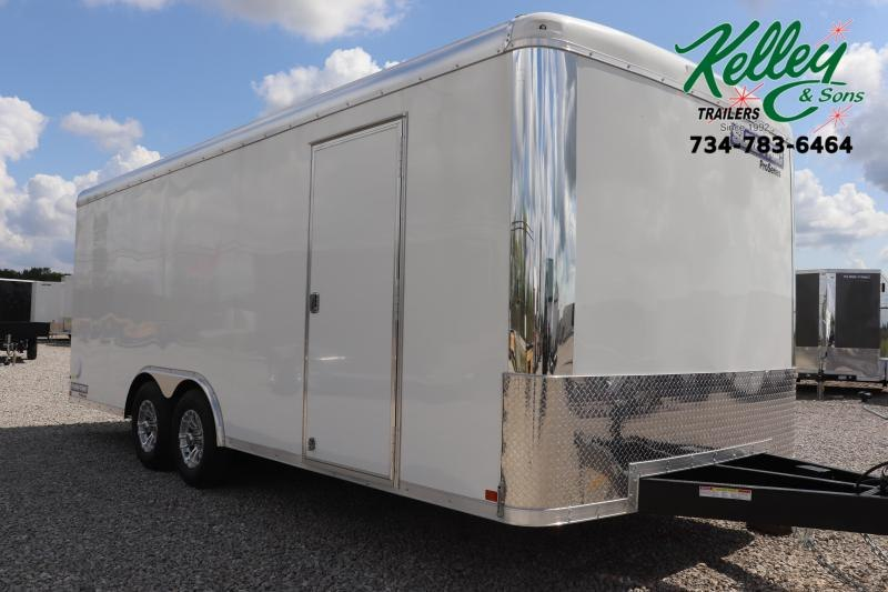 2019 Sure-Trac 8.5x20 10K Pro Series Round Top Cargo Enclosed Trailer