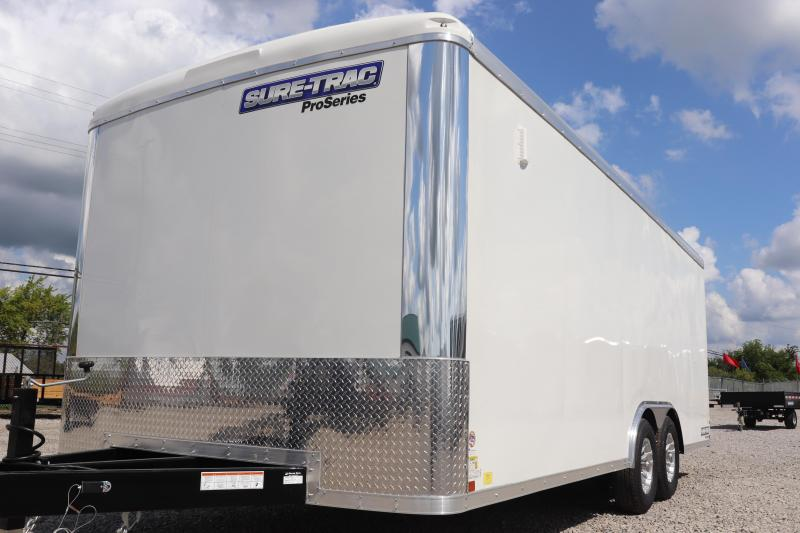 2019 Sure-Trac 8.5x20 10K Pro Series Round Top Cargo Enclosed Trailer