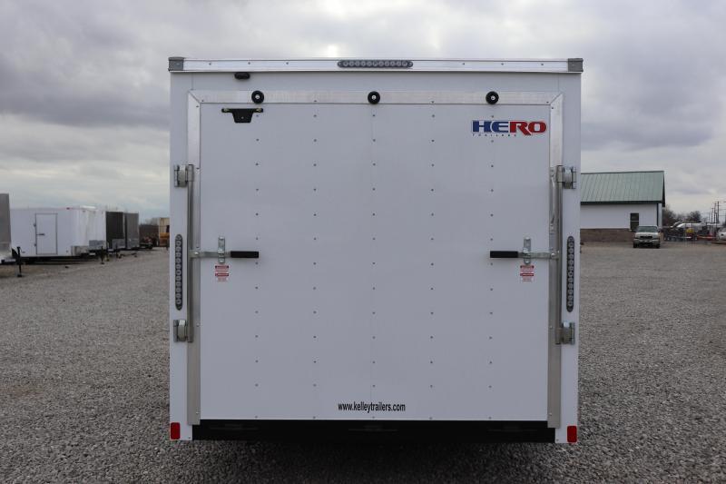 2019 Bravo Trailers 7x16 7K Hero w/ Ramp Door Enclosed Cargo Trailer