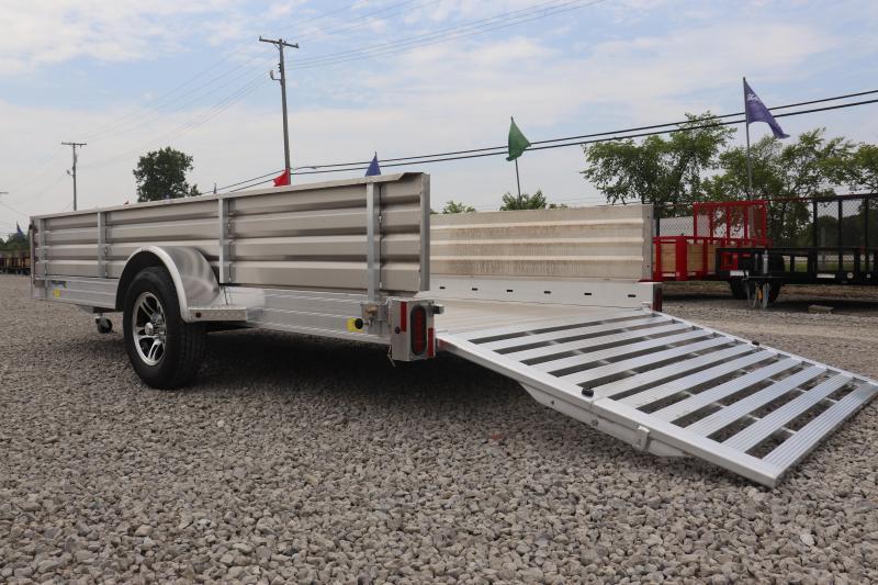 """2020 Hillsboro Industries 78""""x12 Aluminum Utility Trailer"""