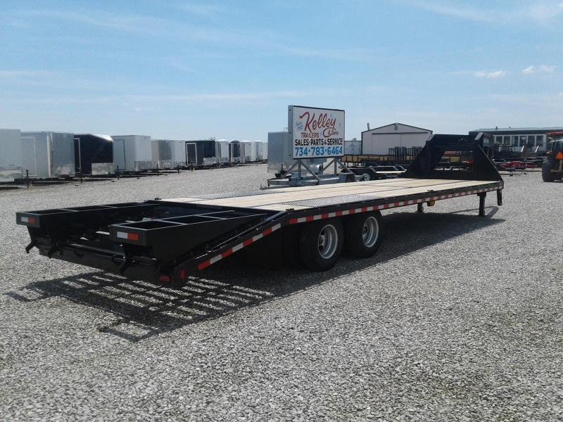 2018 Sure-Trac 8.5x25+5 25.9K Deckover Gooseneck Equipment Trailer