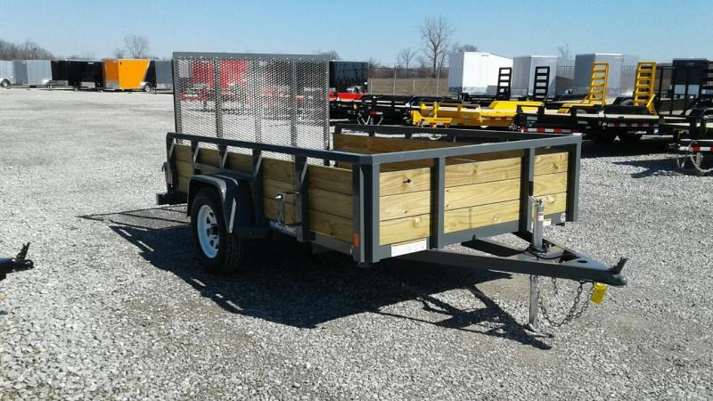 2018 Sure-Trac 6x10 3-Board Utility Trailer