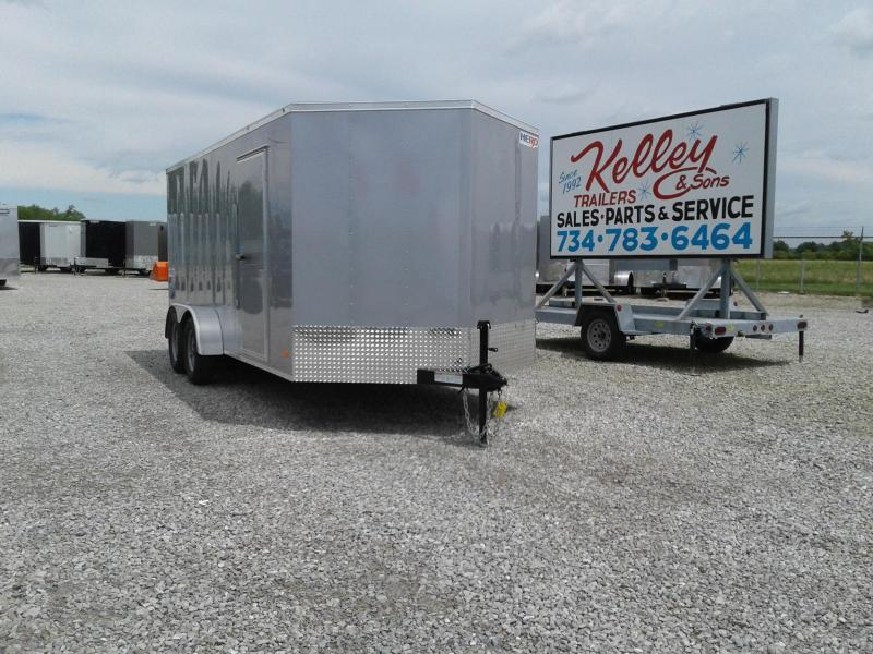 2019 Bravo Trailer 7x16 Hero w/ Ramp Door Enclosed Cargo Trailer