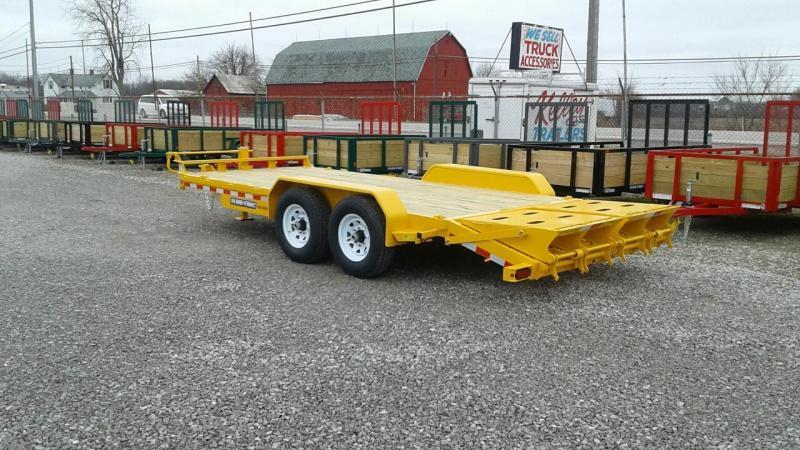 2017 Sure-Trac 15' + 3' 14K Universal Ramp Equipment Trailer