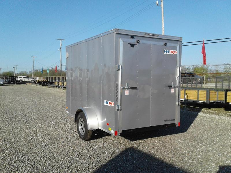2020 Bravo Trailers 6x10 Hero Enclosed Cargo Trailer