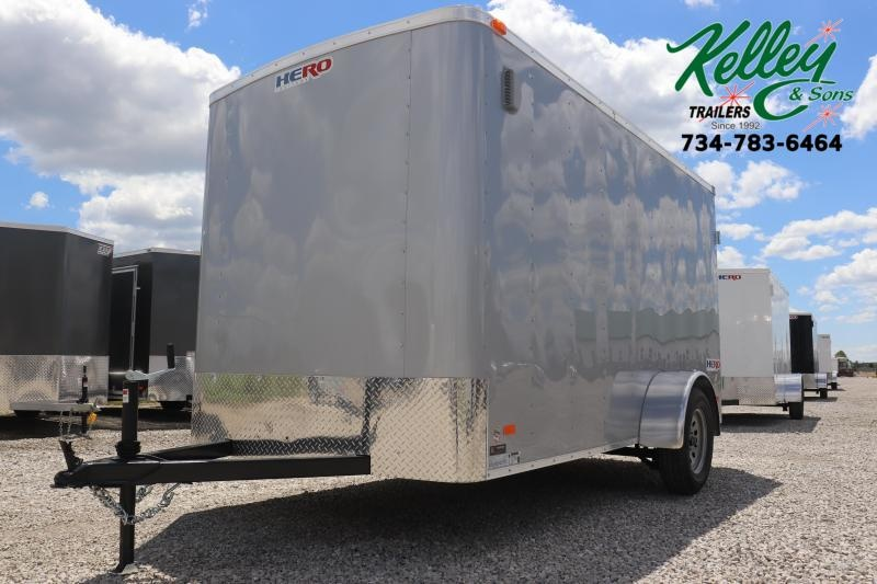 2020 Bravo Trailers 6x12 Hero w/ Double Doors Enclosed Cargo Trailer