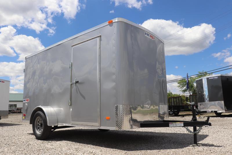 2020 Bravo Trailers 6x12 Hero w/ Double Doors Enclosed Cargo Trailer
