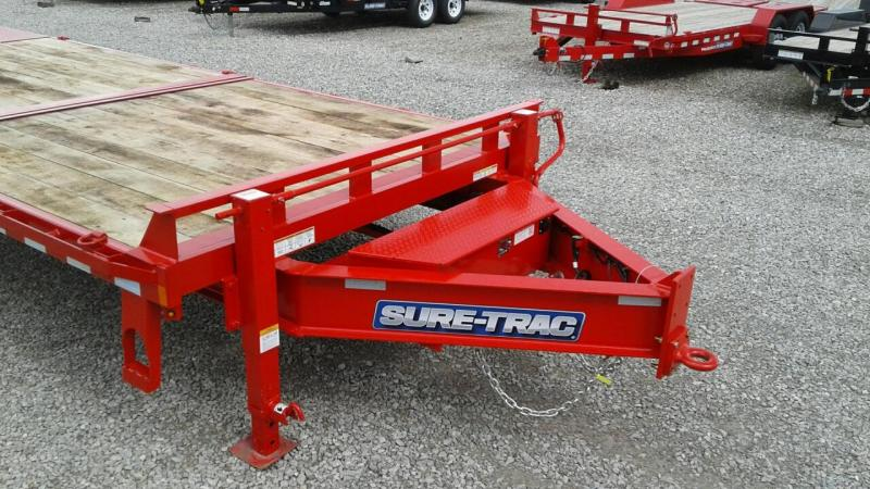 2019 Sure-Trac 22+8 17.6K Powertilt Equipment Trailer