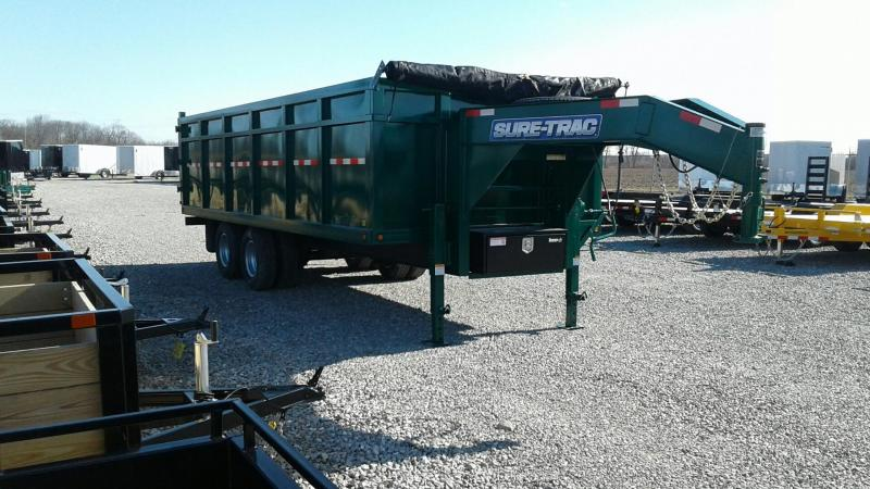 2019 Sure-Trac 20' 24K HD Tandem Dually Dump Trailer
