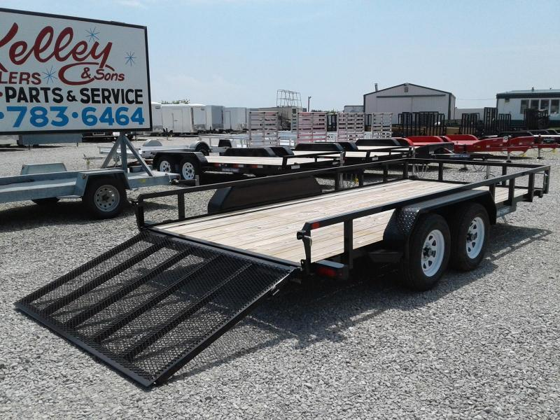 2019 Sure-Trac 7x16 Tube Top Utility 7K Utility Trailer