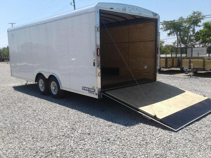 2018 Sure-Trac 8.5x18 10k Landscape Pro RT Enclosed Cargo Trailer