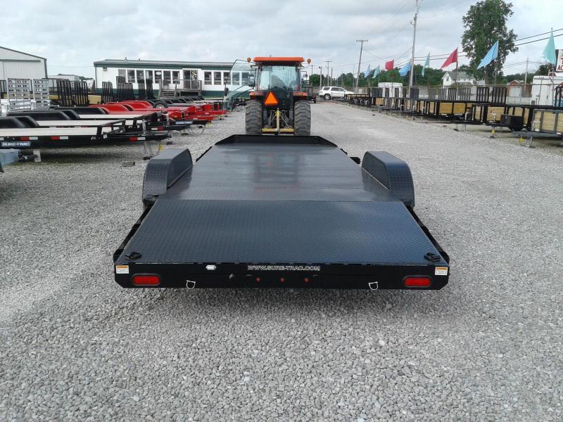 2018 Sure-Trac 7x20 10K Steel Deck Car Hauler Trailer