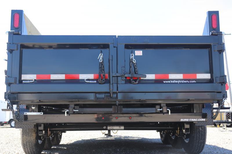 2019 Sure-Trac 82INx16 21K Low Pro Telescopic  Dump Trailer